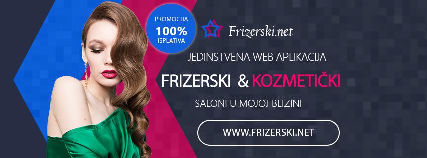 Frizerski saloni, frizeri, kozmetički saloni